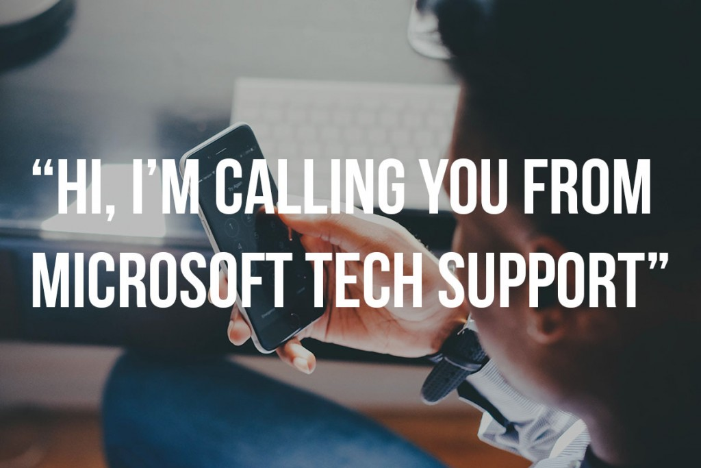 Tech Support MicroPro Computers Unsolicited calls