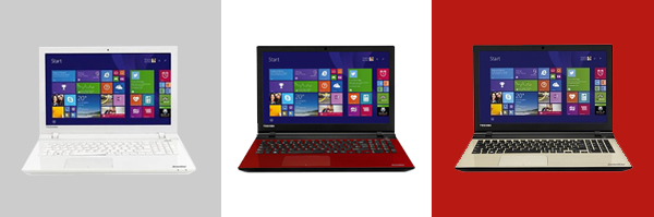 TOSHIBA Laptops color