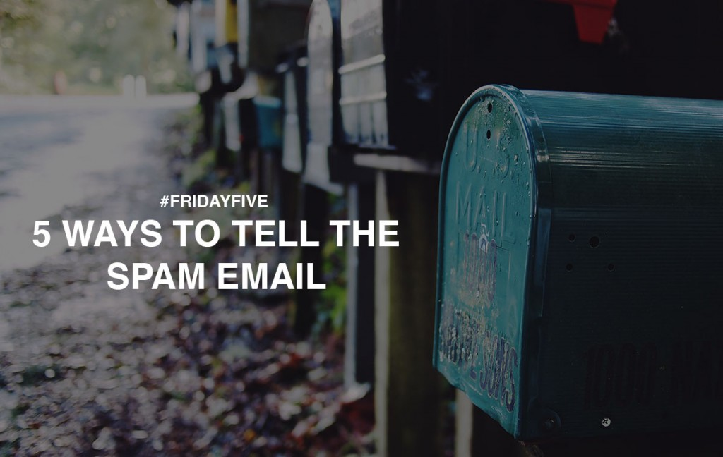 5-ways-to-tell-the-spam-email
